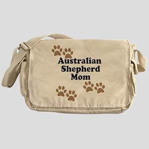 Australian Shepherd Mom Messenger Bag