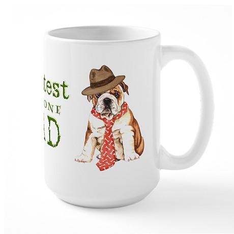 Bulldog Dad Large Mug