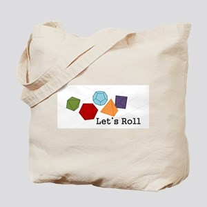 Let's Roll Tote Bag