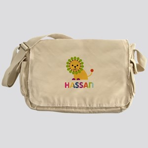 Hassan Loves Lions Messenger Bag
