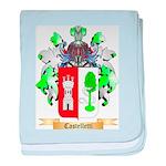 Castelletti baby blanket