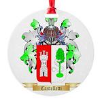 Castelletti Round Ornament