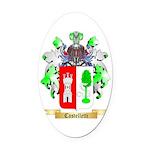 Castelletti Oval Car Magnet