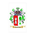 Castelletti Sticker (Rectangle 10 pk)