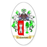 Castelletti Sticker (Oval)