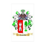 Castellet Sticker (Rectangle 50 pk)