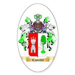 Castellet Sticker (Oval 50 pk)