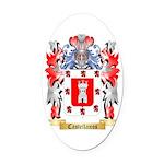Castellanos Oval Car Magnet