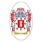 Castellanos Sticker (Oval 50 pk)