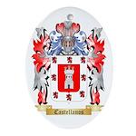 Castellanos Ornament (Oval)