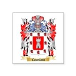 Castellano Square Sticker 3