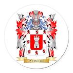 Castellani Round Car Magnet