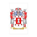 Castellani Sticker (Rectangle 10 pk)