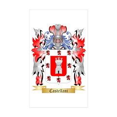 Castellani Sticker (Rectangle 50 pk)