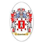 Castellani Sticker (Oval 50 pk)