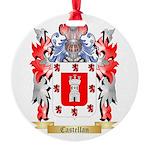 Castellan Round Ornament