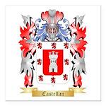 Castellan Square Car Magnet 3