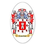Castellan Sticker (Oval)
