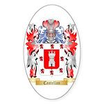 Castellan Sticker (Oval 50 pk)