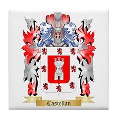 Castellan Tile Coaster