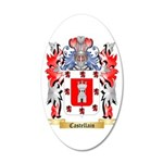 Castellain 20x12 Oval Wall Decal