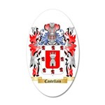 Castellain 35x21 Oval Wall Decal