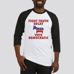 Fight Truth Decay: Vote Democ Baseball Jersey