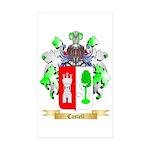 Castell Sticker (Rectangle 50 pk)
