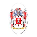 Castelin 35x21 Oval Wall Decal