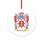 Castelin Ornament (Round)