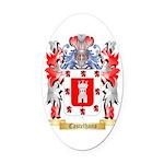 Castelhano Oval Car Magnet