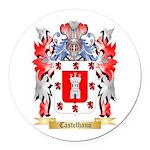 Castelhano Round Car Magnet