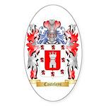 Casteleyn Sticker (Oval 50 pk)
