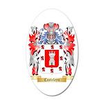 Casteleyn 35x21 Oval Wall Decal