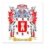 Castelao Square Car Magnet 3