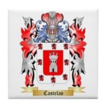 Castelao Tile Coaster