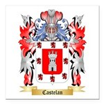 Castelan Square Car Magnet 3
