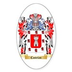 Castelan Sticker (Oval 10 pk)