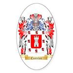 Castelan Sticker (Oval 50 pk)