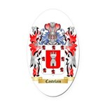 Castelain Oval Car Magnet