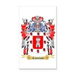 Castelain Rectangle Car Magnet