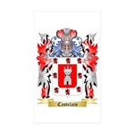 Castelain Sticker (Rectangle 50 pk)