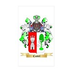 Castel Sticker (Rectangle 50 pk)