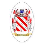 Castatagnier Sticker (Oval)