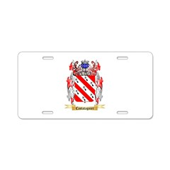 Castatagnier Aluminum License Plate