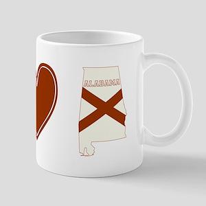 Peace Love Alabama Mug