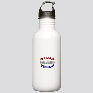 DUMP TRUMP - SAVE AMER Stainless Water Bottle 1.0L
