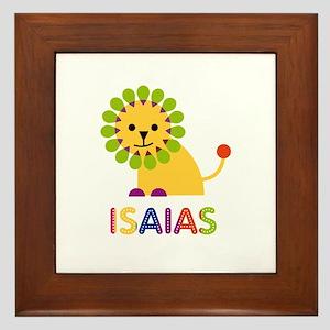 Isaias Loves Lions Framed Tile