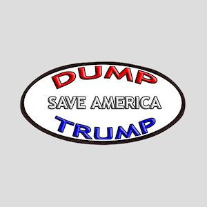DUMP TRUMP - SAVE AMERICA! Patch