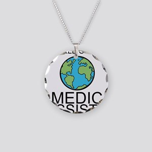 Worlds Greatest Medical Assistant Necklace